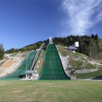 Olympiaschanze in Garmisch Partenkirchen