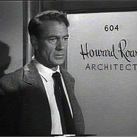 "Howard Roark (Gary Cooper) in ""The Fountainhead"" (1949)"