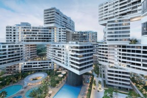 Wohnkomplex «The Interlace» in Singapur